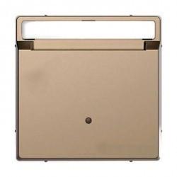 Накладка на карточный выключатель Schneider Electric MERTEN D-LIFE, песочный, MTN3854-6033