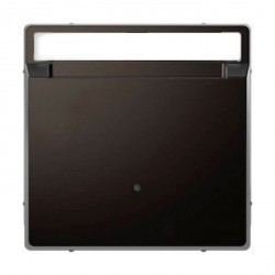 Накладка на карточный выключатель Schneider Electric MERTEN D-LIFE, антрацит, MTN3854-6034