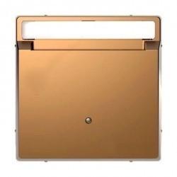 Накладка на карточный выключатель Schneider Electric MERTEN D-LIFE, шампань, MTN3854-6051