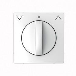Накладка на жалюзийный выключатель Schneider Electric MERTEN D-LIFE, белый лотос, MTN3875-6035