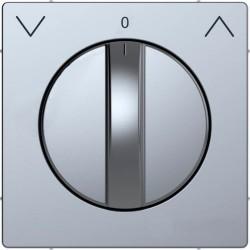 Накладка на светорегулятор Schneider Electric MERTEN D-LIFE, нержавеющая сталь, MTN3875-6036