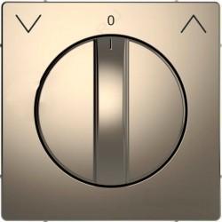 Накладка на светорегулятор Schneider Electric MERTEN D-LIFE, никель, MTN3875-6050