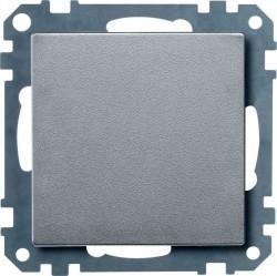 Заглушка Schneider Electric MERTEN SYSTEM M, алюминий, MTN391860