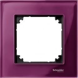 Рамка 1 пост Schneider Electric MERTEN M-ELEGANCE, рубин, MTN4010-3206