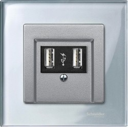 Рамка 1 пост Schneider Electric MERTEN M-ELEGANCE, алмаз, MTN4010-3260