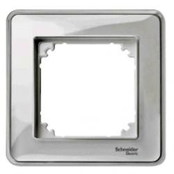 Рамка 1 пост Schneider Electric MERTEN M-CREATIV, прозрачный, MTN4010-3500