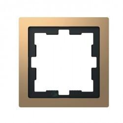 Рамка 1 пост Schneider Electric MERTEN D-LIFE, черный оникс, MTN4010-6503