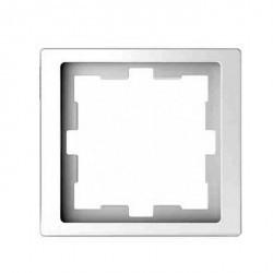 Рамка 1 пост Schneider Electric MERTEN D-LIFE, белый лотос, MTN4010-6535