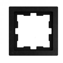 Рамка 1 пост Schneider Electric MERTEN D-LIFE, базальт, MTN4010-6547