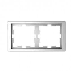 Рамка 2 поста Schneider Electric MERTEN D-LIFE, белый лотос, MTN4020-6535