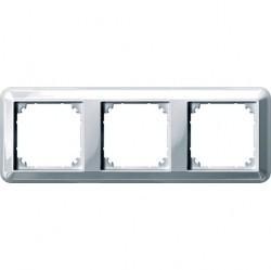 Рамка 3 поста Schneider Electric MERTEN M-TREND, горизонтальная, белый, MTN4030-1219