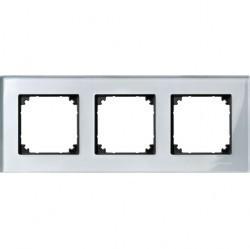 Рамка 3 поста Schneider Electric MERTEN M-ELEGANCE, алмаз, MTN4030-3260