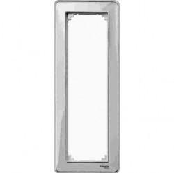 Рамка 3 поста Schneider Electric MERTEN M-CREATIV, прозрачный, MTN4035-3500