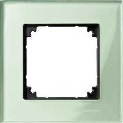 Рамка 1 пост Schneider Electric MERTEN M-ELEGANCE, изумруд, MTN404104