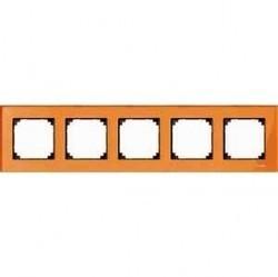 Рамка 5 постов Schneider Electric MERTEN M-ELEGANCE, кальцит, MTN404502