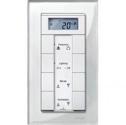 Рамка 2 поста Schneider Electric MERTEN M-ELEGANCE, бриллиантовый белый, MTN404819