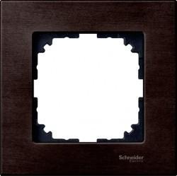 Рамка 1 пост Schneider Electric MERTEN M-ELEGANCE, венге, MTN4051-3471