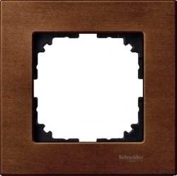 Рамка 1 пост Schneider Electric MERTEN M-ELEGANCE, вишня, MTN4051-3472