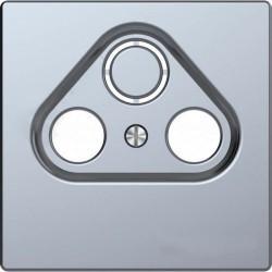 Накладка на розетку телевизионную Schneider Electric MERTEN D-LIFE, нержавеющая сталь, MTN4123-6036