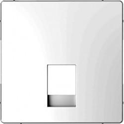 Накладка на розетку информационную Schneider Electric MERTEN D-LIFE, белый лотос, MTN4215-6035