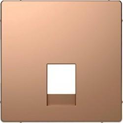 Накладка на розетку информационную Schneider Electric MERTEN D-LIFE, шампань, MTN4215-6051