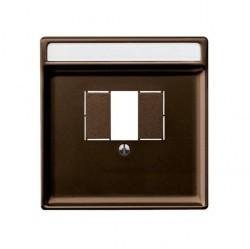 Накладка на розетку USB Schneider Electric MERTEN SYSTEM DESIGN, коричневый, MTN4250-4015