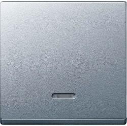 Клавиша с линзой Schneider Electric MERTEN SYSTEM M, алюминий, MTN431060