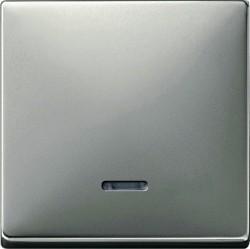 Клавиша с линзой Schneider Electric MERTEN SYSTEM DESIGN, стальной, MTN438046