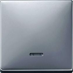Клавиша с линзой Schneider Electric MERTEN SYSTEM DESIGN, алюминий, MTN438060