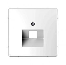 Накладка на розетку информационную Schneider Electric MERTEN D-LIFE, белый лотос, MTN4521-6035