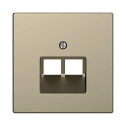 Накладка на розетку информационную Schneider Electric MERTEN D-LIFE, песочный, MTN4522-6033