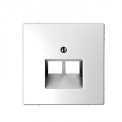 Накладка на розетку информационную Schneider Electric MERTEN D-LIFE, белый лотос, MTN4522-6035
