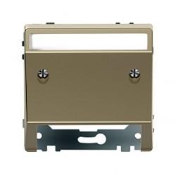 Накладка на вывод кабеля Schneider Electric MERTEN D-LIFE, песочный, MTN4540-6033
