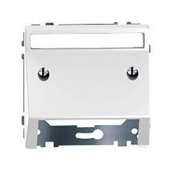 Накладка на вывод кабеля Schneider Electric MERTEN D-LIFE, белый лотос, MTN4540-6035