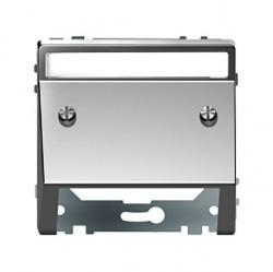 Накладка на вывод кабеля Schneider Electric MERTEN D-LIFE, нержавеющая сталь, MTN4540-6036