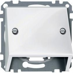 Накладка на розетку информационную Schneider Electric MERTEN SYSTEM M, полярно-белый, MTN464919
