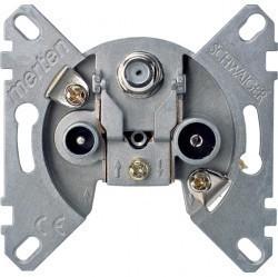 Механизм розетки TV-FM-SAT Schneider Electric коллекции Merten, одиночная, MTN466097