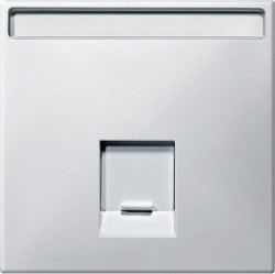 Накладка на розетку информационную Schneider Electric MERTEN SYSTEM DESIGN, полярно-белый, MTN466419