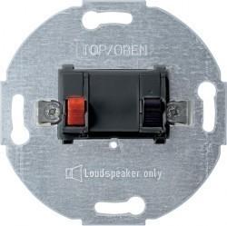 Аудио-розетка Schneider Electric коллекции Merten, антрацит, MTN466914