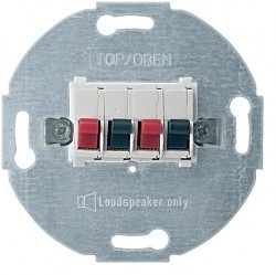 Аудио-розетка Schneider Electric коллекции Merten, белый, MTN467019
