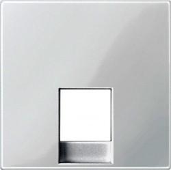 Накладка на розетку информационную Schneider Electric MERTEN SYSTEM M, полярно-белый, MTN469619