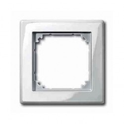 Рамка 1 пост Schneider Electric MERTEN M-SMART, полярно-белый, MTN478119