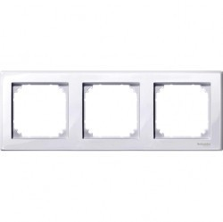 Рамка 3 поста Schneider Electric MERTEN M-SMART, активно-белый, MTN478325