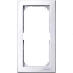 Рамка 2 поста Schneider Electric MERTEN M-SMART, активно-белый, MTN478825