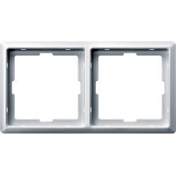 Рамка 2 поста Schneider Electric MERTEN ARTEC, полярно-белый, MTN481219