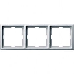 Рамка 3 поста Schneider Electric MERTEN ARTEC, полярно-белый, MTN481319