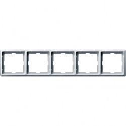 Рамка 5 постов Schneider Electric MERTEN ARTEC, полярно-белый, MTN481519
