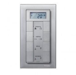 Рамка 2 поста Schneider Electric MERTEN M-PLAN, алюминий, MTN488860