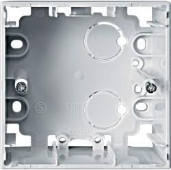 Коробка одинарная для накладного монтажа Премиум-класса System M Schneider Electric (Германия). Артикул: MTN510519