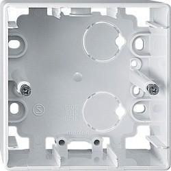 Коробка одинарная для накладного монтажа Премиум-класса Artec Schneider Electric (Германия). Артикул: MTN513519